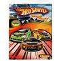 Álbum De Figurinhas Hotwheels Mega Race Incompleto