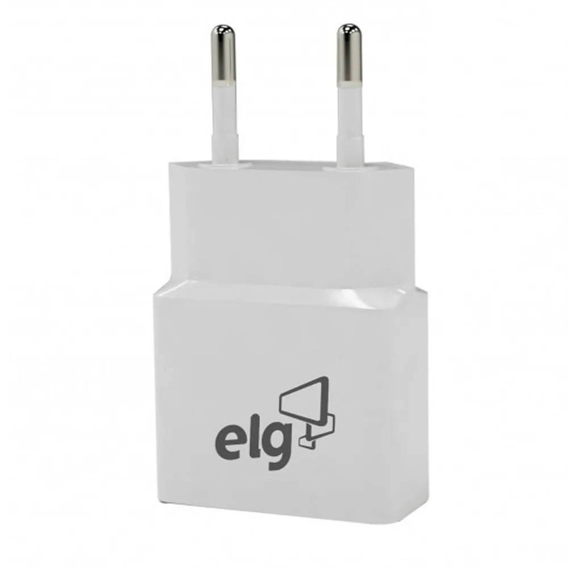 Carregador Universal Celular Câmera Tablet ELG Branco - WC1A
