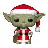 Holiday Yoda Pop Funko #277 - Yoda Natal - Star Wars