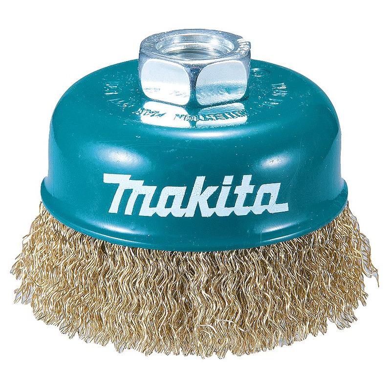 Escova de Aço para Esmerilhadeira 100mm Tipo Copo - D-39805 - Makita<BR>