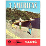 Revista 3 Américas N° 18 Varig 1961