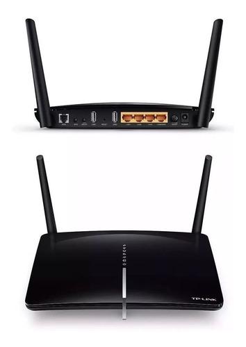 Modem Archer D5 Router Ac1200 Adsl2 + Dual Band Gb Tp-link Original