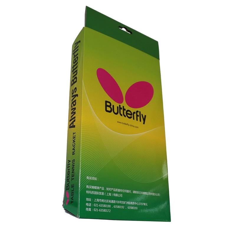 Butterfly Raquete Tenis Mesa Tbc 201 Classica + Raqueteira