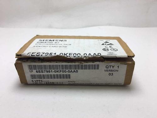 Memory Card Simatic S7 6es7 951-0kf00-0aa0 Clp Original
