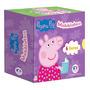Miniblocos Peppa Pig Com 6 Minilivros Cartonados