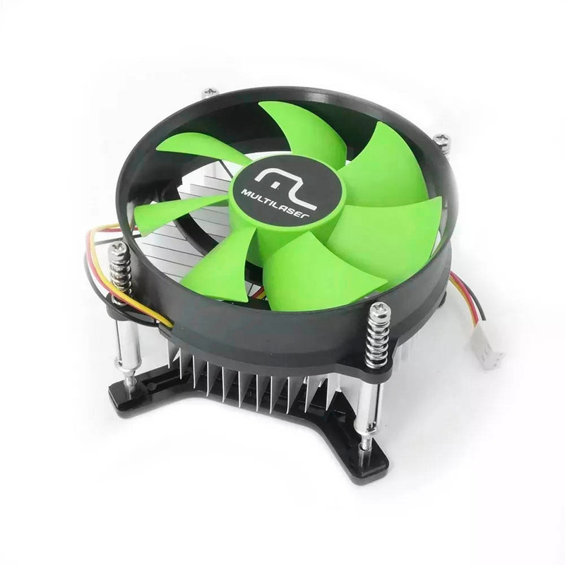 Cooler Para Processador Intel Soquete LGA 775 Multilaser - GA043