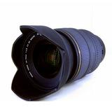 Sigma lente 24-70mm f2.8 DG Macro mostruario