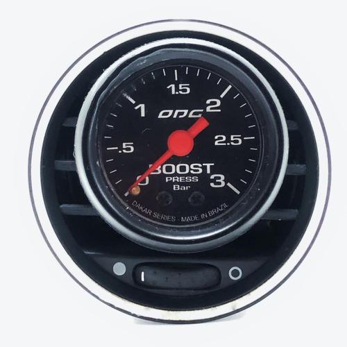Suporte Manômetro 52mm Punto Tjet Ventpod Gaugepod Turbo Original