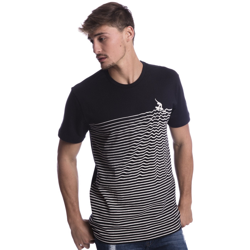 Camiseta Long Island Waves Preta