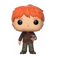Funko Pop Ron Weasley with scabbers #44 - Ron Weasley com Perebas - Harry Potter - Movies