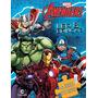 Livro Marvel Quebra Cabeca Vingadores