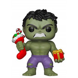 Holiday Hulk Pop Funko #398 - Hulk Natal - Marvel