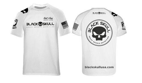 Camiseta Dry Fit Modelo Novo - Black Skull - Lançamento