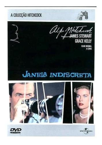 Janela Indiscreta - Dvd - James Stewart - Grace Kelly Original
