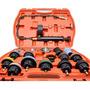 Kit Teste Arrefecimento P/ Radiador Comum E Selado 18 Peças