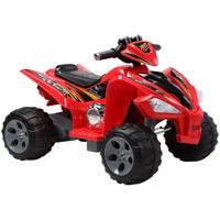 Quadriciclo Elétrico Infantil - Vermelho - 915900 - Bel Brink