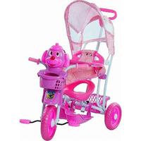 Triciclo Gangorra Cachorro - Rosa - 910700 - Bel Brink