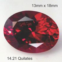 e06b5c293f1 Comprar Rubi Pedra Preciosa Vermelho Brasa 13mm X 18mm Com 14.21 Cts