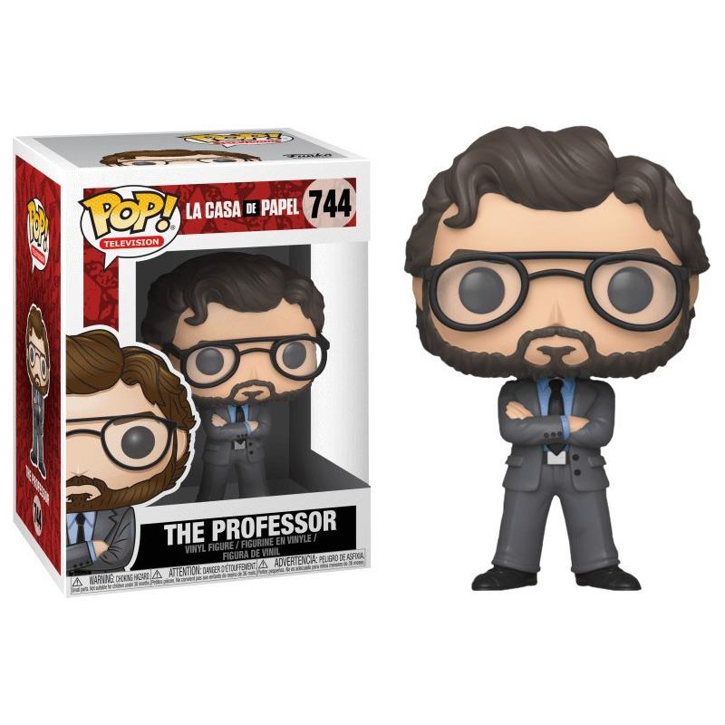 Professor Pop Funko #744 - La Casa de Papel - Netflix