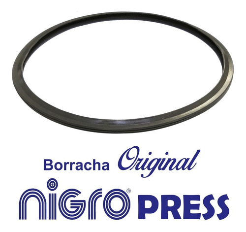 Borracha P/ Panela De Pressão Nigro Press 3 A 6lts Original