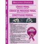 Livro Código Penal, Código Processo Penal, Constituição
