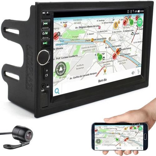 Central Multimídia Mp5 Automotivo Espelhamento Android Ios Original
