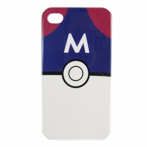 Case Capinha Pokemon Pokebola Masterball - Iphonhe 4 / 4 S Original