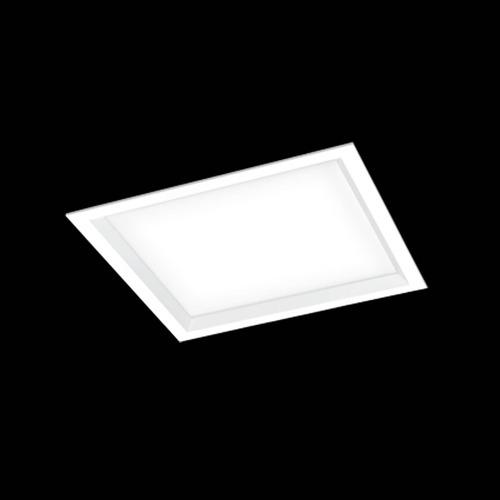 Luminária De Embutir Moldura Com Recuo Inclinado 38x38cm