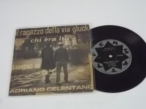 Vinil Compacto Ep - Adriano Celentano - Il Ragazzo Della Via Original