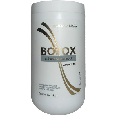 Botox Capilar Argan Oil 1 KG - Dubay Lyss