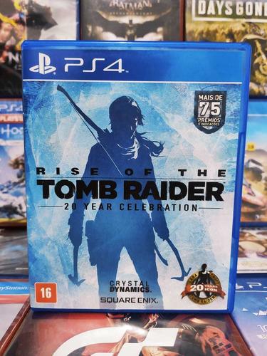 Rise Of The Tomb Raider Ps4 Midia Fisica Original
