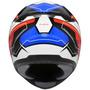 Capacete Zeus 811 Evo Plasma Al5 Black/blue/red 12x S/juros