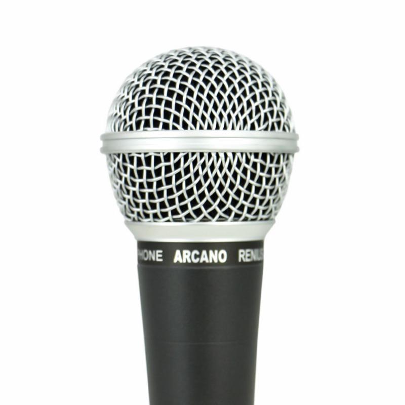 MICROFONE ARCANO DINAMICO COM FIO RENIUS-8 XLR