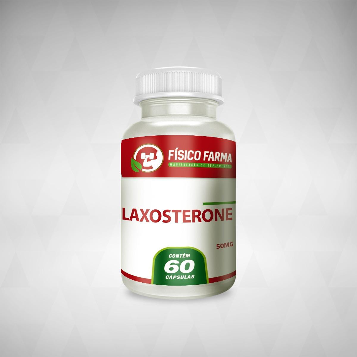 LAXOSTERONE® 50MG - 60 cápsulas