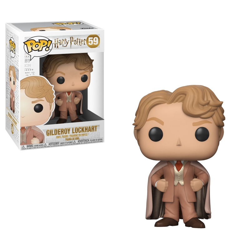 Gilderoy Lockhart Pop Funko #59 - Harry Potter - Series 5