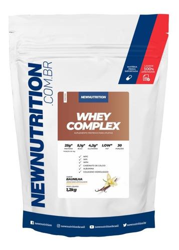 Whey Complex 1,2kg Baunilha Newnutrition Original