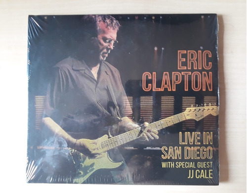 Cd Eric Clapton - Live In San Diego With Jj Cale Original