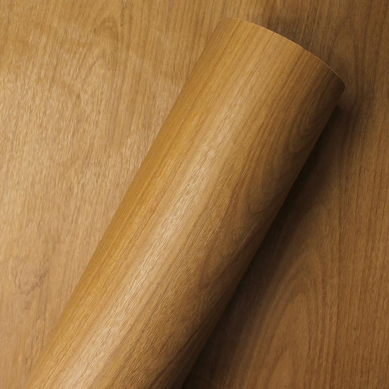 Adesivo para parede madeira amendola Larg. 1,22m
