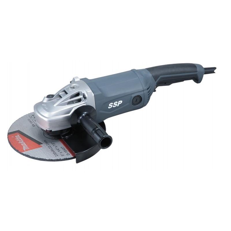 """Esmerilhadeira Angular 230 mm (9"""") 2.000 Watts - Makita - MGA901 - 220 Volts"""