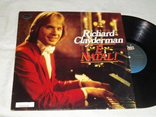 Lp Vinil - Richard Clayderman - É Natal Original