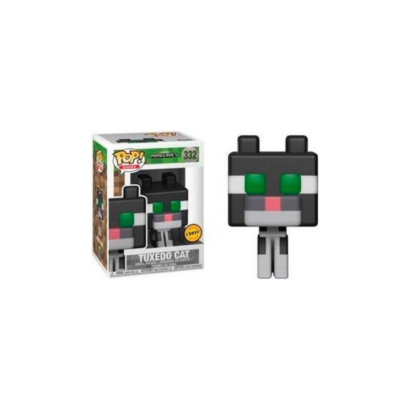 Tuxedo Cat Chase Edition Pop Funko #332 - Minecraft