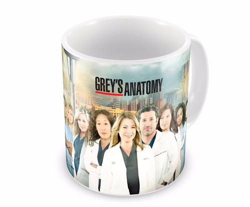 Caneca de Porcelana Grey's Anatomy