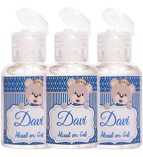 30 Mini Álcool Gel Lembrancinhas De Maternidade Nascimento Original