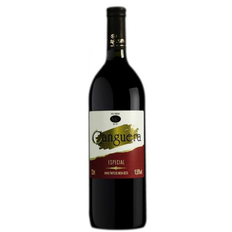 Vinho Tinto Seco Izabel/Bordô 720ml - Canguera