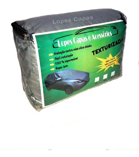 Capa Cobrir Carro  Forro 100% Impermeavel Anti-uv Original