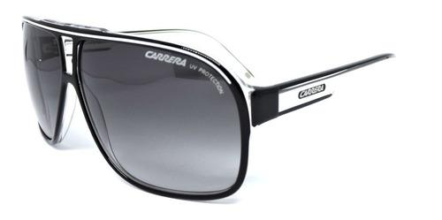 Óculos De Sol Carrera Grand Prix 2 Gp2 T4m 9o Preto/branco Original