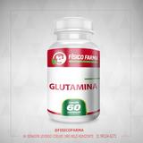 Glutamina 500mg - 60 Cáps