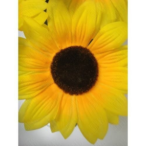 Buque Flor De Girassol Com 7 Galhos