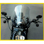 Bolha Custom Black Policarbonato 4mm Harley Black Denim