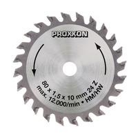 Disco de Serra HM 80mm 24 Dentes para FET - 28734 - Proxxon